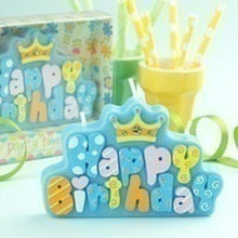 1pc Birthday Candles Creative  Letter Birthday Happy Candles
