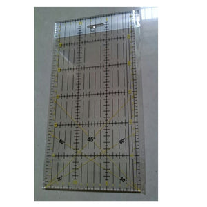 30*15cm Clear Acrylic Ruler Quilt patchwork Acrylic Rulers Quilting Tools 11.81inch*5.9inch