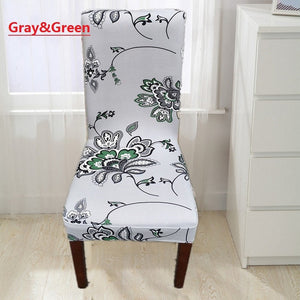 Fashion Home Life Multicolor Optional Chair Back of The Chair Set of Hotel Hotel Chair Cover Dining Room AntiFouling Chair
