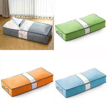 Large Zipped Handles Storage Bag for Clothes Duvet Pillow Under Bed 4Colors