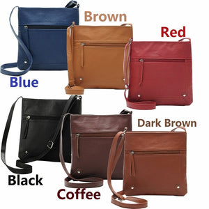 Women's Fashion Faux Leather Handbag Satchel Cross Body Bag