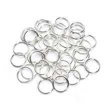 Closed Jump Rings Silver-plated Jewelry Findings Kit Bulk Round Hard Snap Wholesale Craft Ideas Jewelry Making Gauge Value Box S