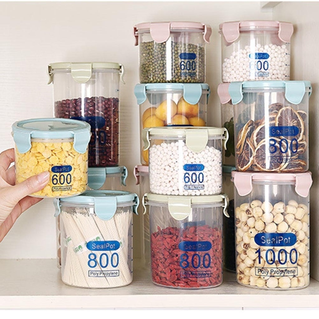 Food Preservation Plastic Kitchen Storage Box