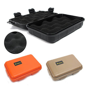 Outdoor survival equipment large EDC tool box shock and pressure waterproof box sealed box outdoor living storage box