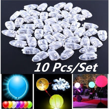 10pcs/set LED Balloon Lamp Decoration Light For Xmas Party Wedding Birthday Home Decor  Lantern Supplies
