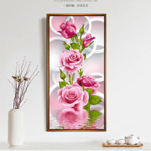 DIY 5D Diamond Embroidery Painting Rose Flower Needlework