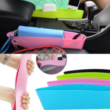 Car Seat Storage Box Slit Pocket Catch Pouch Durable Leak-Proof High Quality