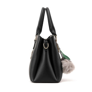 Handbag for Women Tote Bag New Fashion Litchi Grain One Shoulder Bag Portable Female Crossbody Bag Euramerican Style Atmosphere