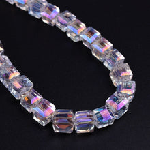 96pcs/lot 4/6mm AB Color Crystal Beads For Jewelry Making Decorative Glass Stone DIY Beads Material Cuentas Chamilia