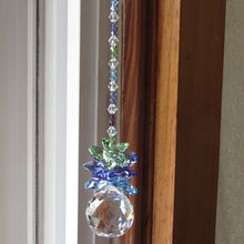 1PC Clear Ball Crystal Suncatcher Pendant Prisms Hanging Drop Home Window Decor Gift(Crystal Ball Size:20mm  30mm  40mm)