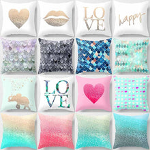 Double print Abstract gradient color pillowcase home office decoration cushion sets 45cm*45cm