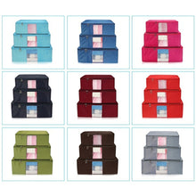 Honana HN-B6 Large Folding Storage Bag Waterproof Dustproof Zipper Organizer Bags