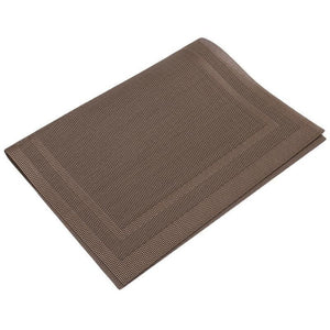 Dining Room Table Placemats PVC Kitchen Heat Insulation Stain-resistant Mats