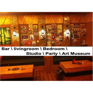 81084 Retro Pub Bar Wall Poster Tavern Beer Tin Sign Shabby Chic Decor Metal Plaque