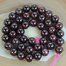 Natural Dark Red Garnet Stone 4mm 6mm 8mm 10mm 12mm Round Beads15.5inches/strand wholesale