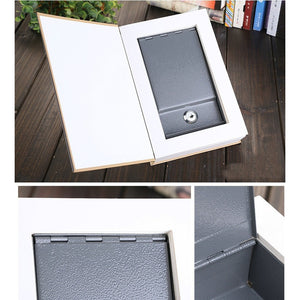 Dictionary Book Safe Diversion Secret Hidden Security Stash Booksafe Lock & Key Cash Jewellery Box