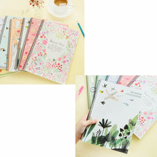 Fashion Cute B5 Notebook Spiral Exercise Book Stationary For School Office Random Color