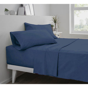 1800 Thread Count Egyptian Brushed Microfiber Deep Pocket 4pcs Bed Sheet Set