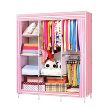 Large Size Portable Home and Bedroom Wardrobe Closet Clothes Storage