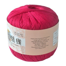 DIY Mercerized Cotton Cord Thread Yarn for Embroidery Crochet Knitting Lace Jewelry
