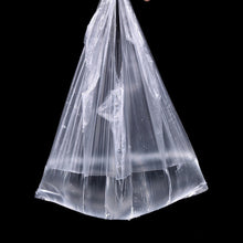 Plastic T-Shirt Retail / Grocery Shopping Bags w/ Handles 55pcs 24*32cm Plastic, Better Item