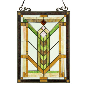 Chloe Tiffany-style Window Panel/ Suncatcher