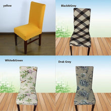 Home & Living Dining Chair Covers Spandex Stretch Dining Room Chair Protector Slipcover Decor