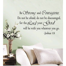 Religious Wall Quotes Words Letters Art Decals Home Decor Removable Wall Sticker