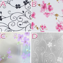 45x100cm Privacy Home Bathroom Window Decoration Glass Self Adhesive Film Sticker Static Cling Waterproof Frosted Window Film