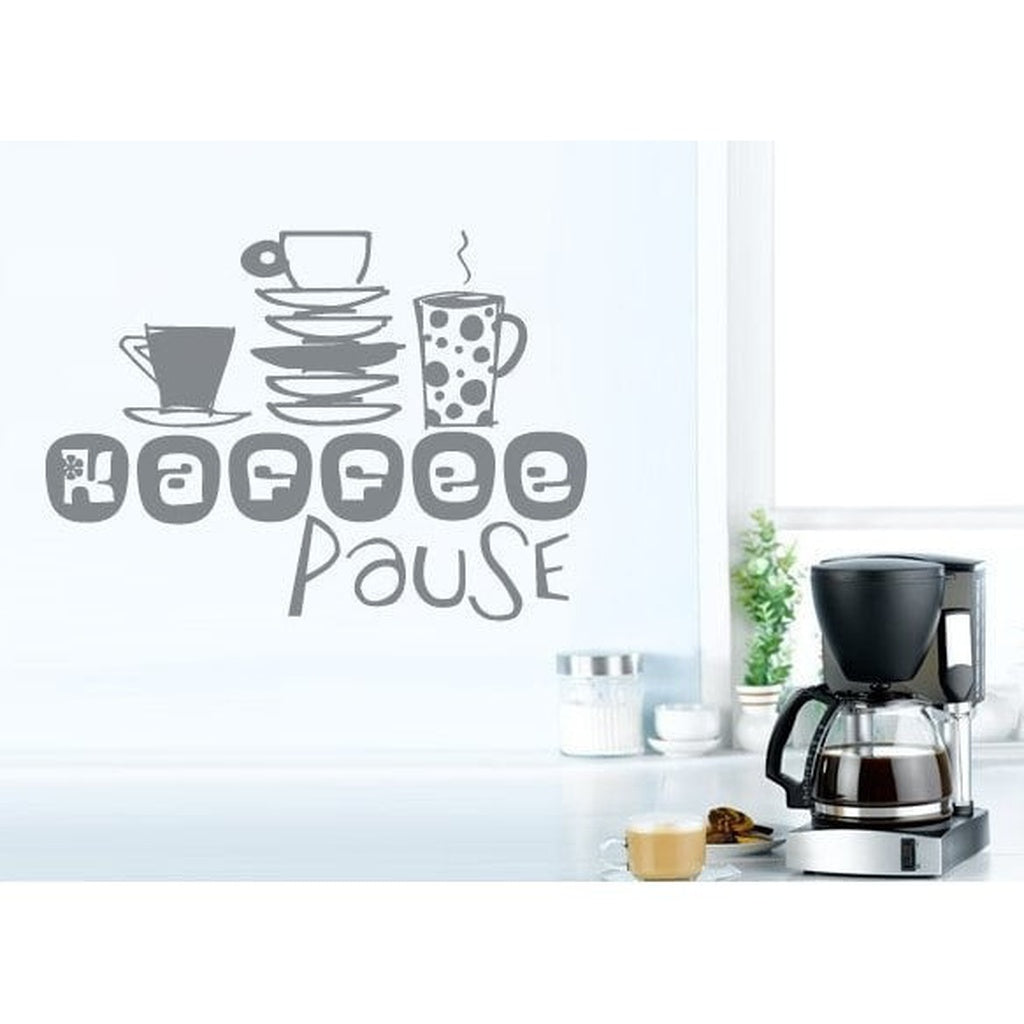 Coffee Kitchen Vinyl Sticker Wall Art