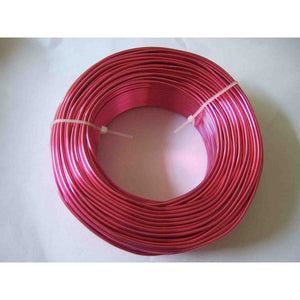 5 Meters / Roll 2mm Round Aluminium Craft Floristry Wire For Jewellery Beads Making Findings 12 guage