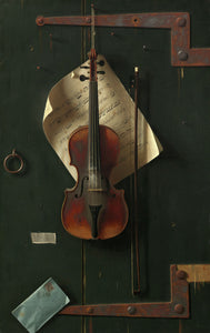 William Michael Harnett - The Old Violin