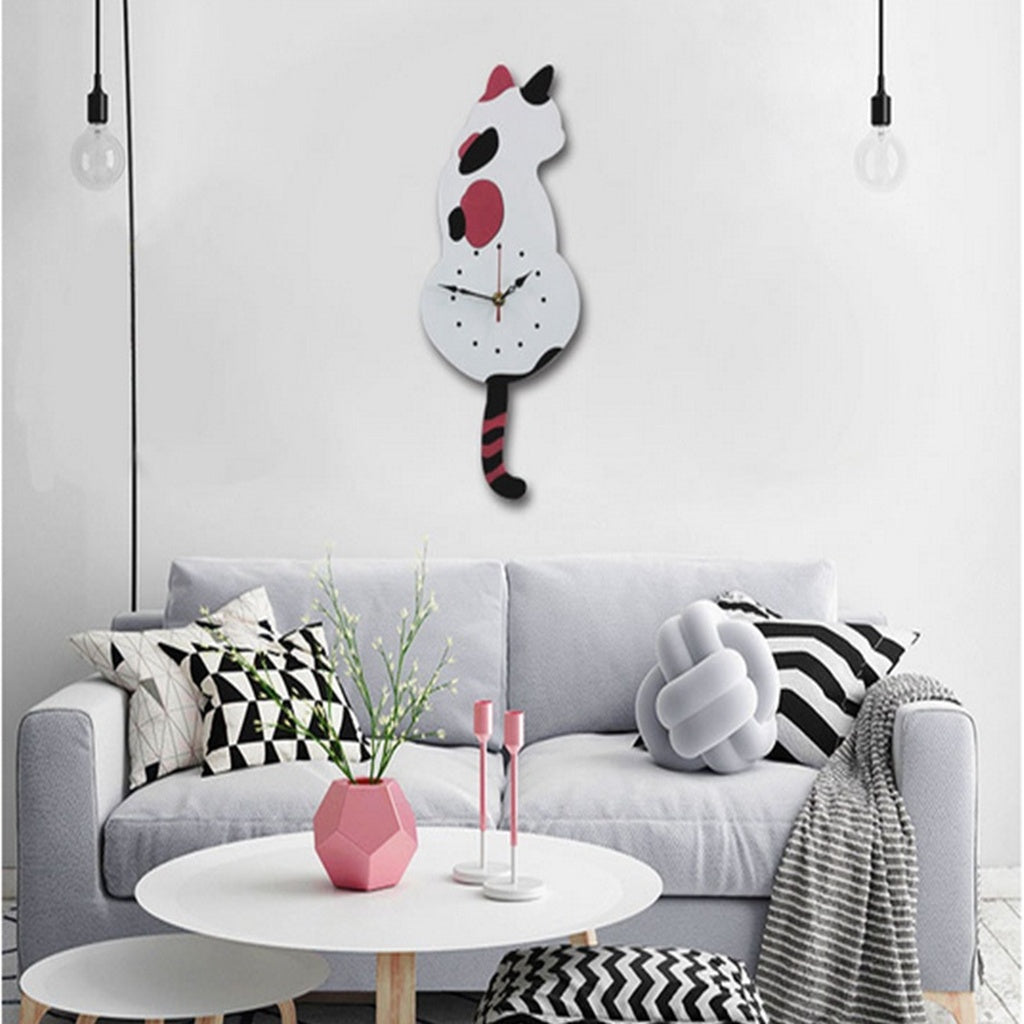 Creative Cartoon Wall Clock For  Living room, office, bedroom, Lover Gifts,Kids gifts