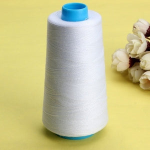 6 Colors 3000 Yards Industrial Overlocking Sewing Machine Polyester Thread