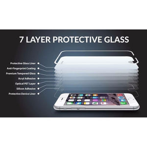 Ultra Thin 0.3mm 2.5D Arc Round Edge HD Premium Tempered Glass Screen Protector Cover Guard Explosion Proof Shockproof Film For