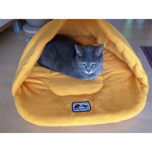 Pet Fleece Warm Soft Winter Pet Sleeping Bag Dog Bed Cat House Nest Bedding Sleeping Bag Mat Pad Kennel Blanket Cushions