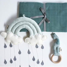 Tent Props Toy Raining Clouds Water Drop Baby Bed Room Hanging Wall Decor Room Decoration