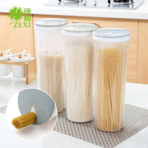 Hot Sale Pasta Noodle Grain Cereal Bean Rice Food Storage Container Kitchen Sealed Box