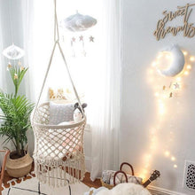 Moon Star Soft Cushion Cloud Hanging Decoration Children Toy for Kids' Room
