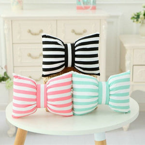 Detachable Pillows Pet Watermelon Tooth Ice Cream Bowknot Cushion Children Birthday Gift Decorative Pillows