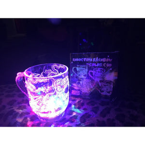Unique Design LED Flashing Color Change Water Activated Light Up Dragon Beer Whisky Cup Mug