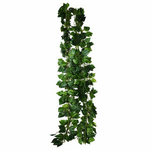 1 Piece Artificial Rohdea Ivy Leaf Garland Hanging Plants Vine Fake Foliage Flowers Wedding Home Indoor Garland Courtyard Decora