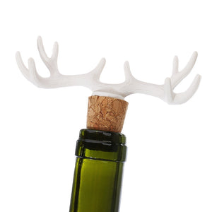 Antler Deer Wine Champagne Bottle Sealer Cork Red Wine Plug Stopper Novelty