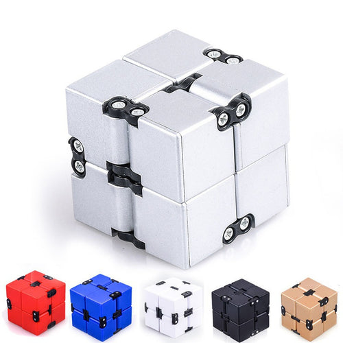 Infinity Cube Magic Cube Stress Toy Mini Fidget Toy Anxiety Stress Relief Blocks Adult Children Kids Funny Toys