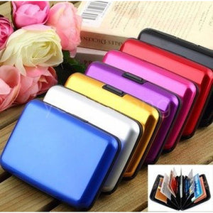 Waterproof Antimagnetic Aluminum Metal Card Package Box of Bank Card Credit Card Box