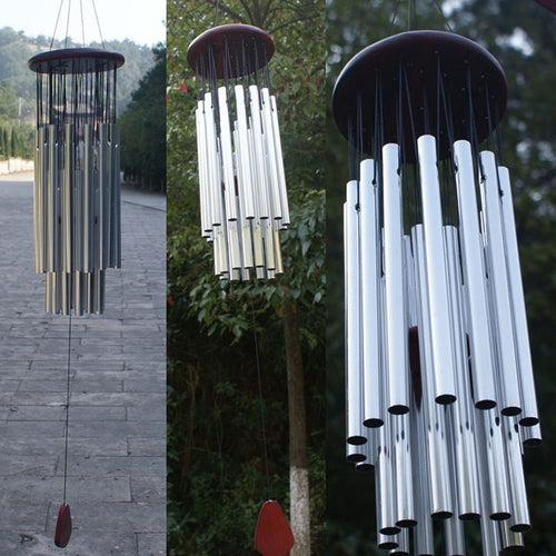 Wind Chimes CHURCH BELLS Copper 27-Tubes Outdoor Garden Home Decor WindChimes