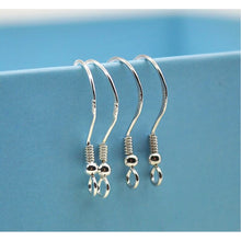 220PCS High Quality DIY Jewelry Findings 925 Sterling Silver French Hook Earrings Ear Wires