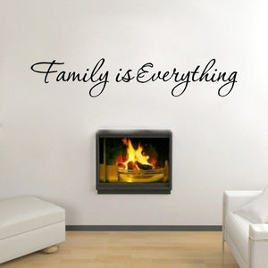 New Arrival Diy Family Everything Removable Art Vinyl Quote Wall Sticker Mural Home Decor HG-WS-1568