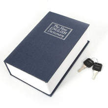 Large/ Medium/ Mini Home Dictionary Book Secret Safe Storage Key Lock Box Cash