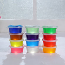12 Pc Slime Storage Containers Foam Ball Storage Cups Containers With Lids